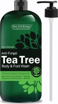Anti-Fungal Tea Tree Oil Body Wash by New York Biology