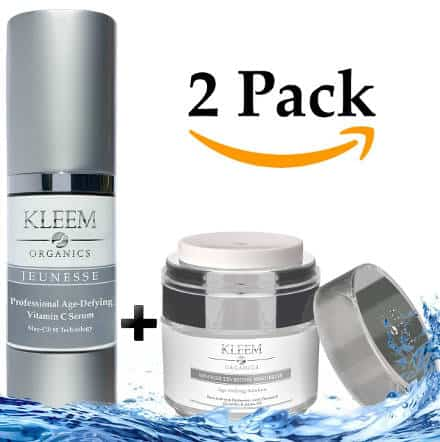Kleem Organics Anti-Aging Skin Care Set for Men and Women