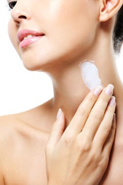 Neck wrinkle and firming cream