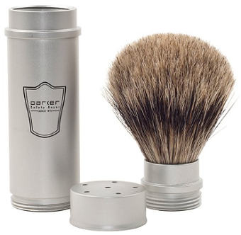 Parker Safety Razor 100% Badger Full Size Travel Brush