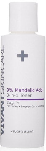 Vivant Skin Care 9% Mandelic Acid 3-in-1 Toner