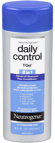 Neutrogenat T/Gel Daily Control 2-in-1 Dandruff Shampoo Plus Conditioner