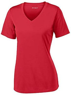 Women's Dri-Equip Short Sleeve Moisture Wicking Athletic Shirts