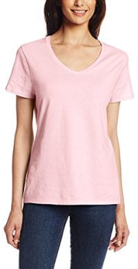 Hanes Women's Short Sleeve Nano T-Shirt