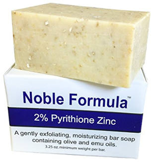 Noble Formula 2% Pyrithione Zinc Original Bar Soap