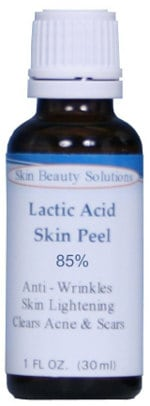 Lactic Acid 85% Skin Chemical Peel by Skin Beauty Solutions