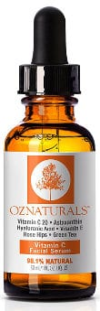 OZNaturals Vitamin C Facial Serum