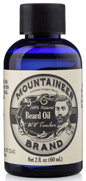Mountaineer Brand Natural Beard oil-WV Timber