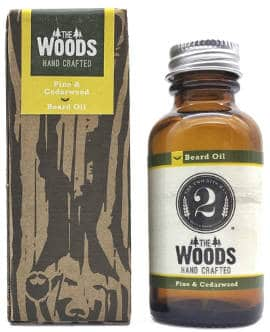 The Woods Natural Pine and Cedarwood Beard Oil