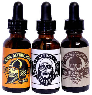 Fisticuffs Grave Before Shave Beard Oil 3 Pack