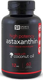 Sports Research Astaxanthin Capsules