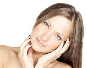 Premature skin aging signs