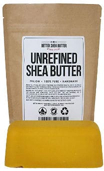 Pure Unrefined Yellow Shea Butter by Better Shea Butter