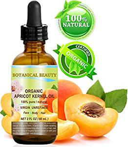 Organic apricot kernel oil for itching red skin