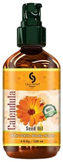 Calendula carrier oil for dry chapped skin