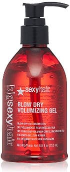 Medium hold volumizing gel for thin hair