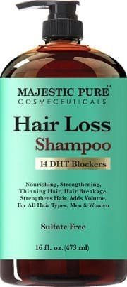 Sulfate free hair loss shampoo
