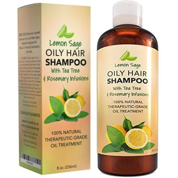 Lemon Sage Oily Hair Shampoo