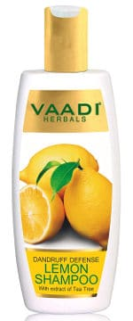Lemon with Tea Tree Extract Shampoo by Vaadi Herbals