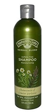 Nature's Gate Organics Shampoo with Chamomile & Lemon Verbena