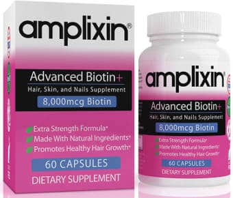 Advanced biotin supplement for healthy hair, skin and nails