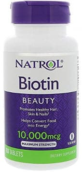 Beauty tablets for healthy hair, skin and nails